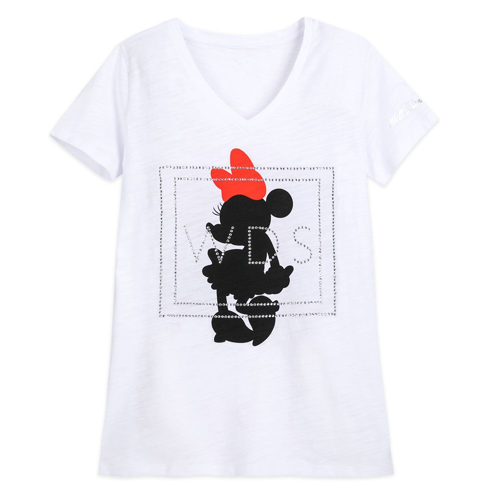 Minnie Mouse Jeweled T-Shirt for Women – Walt Disney Studios