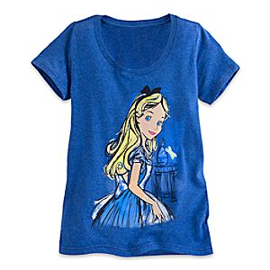 Alice in Wonderland Sketch Tee for Women