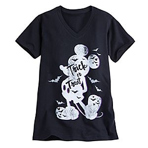 Mickey Mouse Trick or Treat Tee for Women