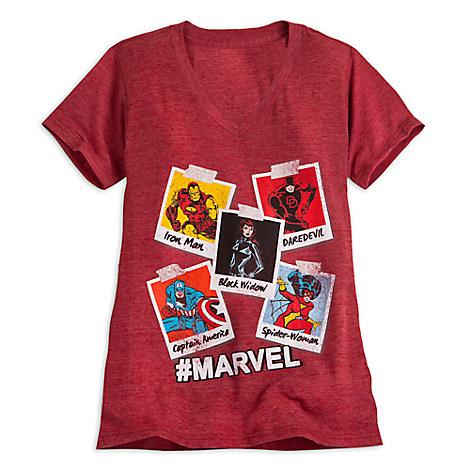 Marvel Comics Tee for Women