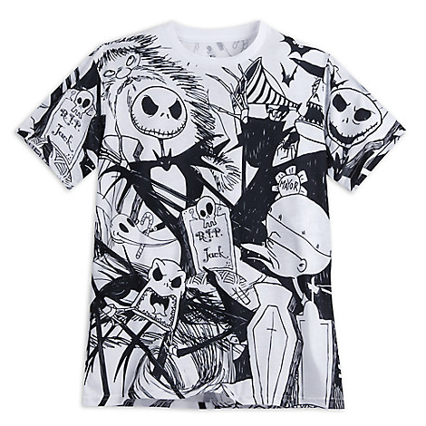 Tim Burton's The Nightmare Before Christmas Tee for Men