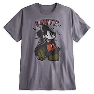 Mickey Mouse Halloween Tee for Men - Plus Size