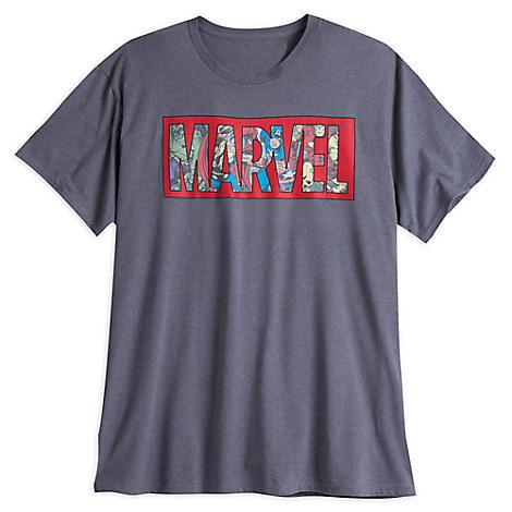 Marvel Comics Logo Tee for Men - Plus Size