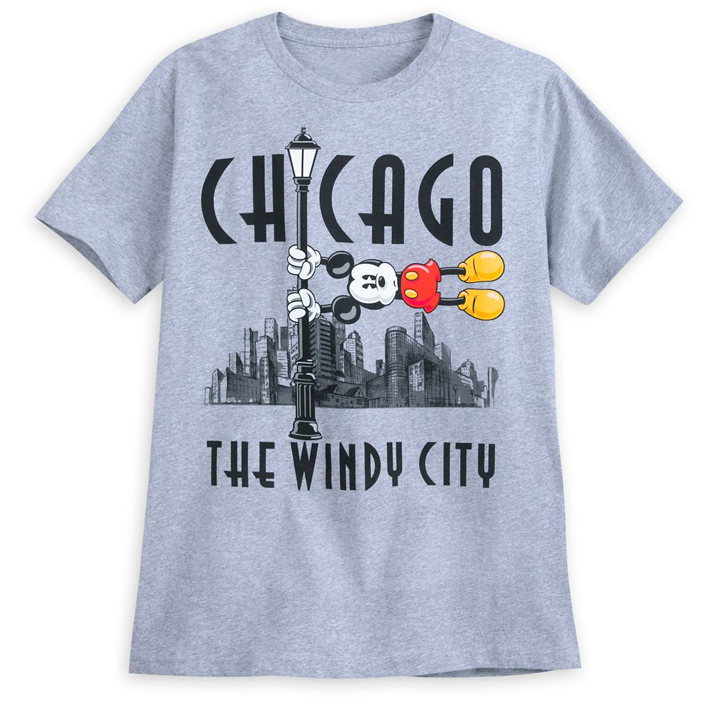 Mickey Mouse Chicago T-Shirt for Men
