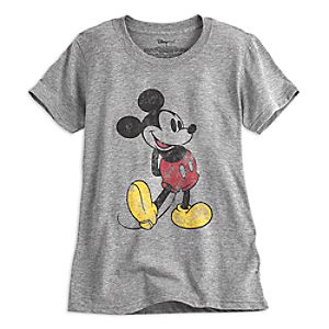 Mickey Mouse Classic Heathered Tee for Women