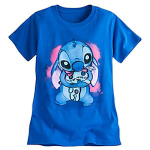 Stitch and Scrump Tee for Women