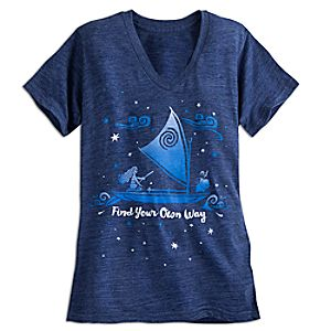 Disney Moana Fashion Tee for Women