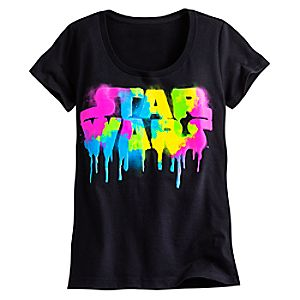 Star Wars Neon Logo Tee for Women