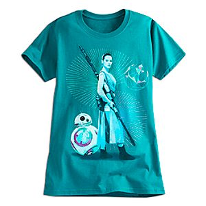 Rey and BB-8 Tee for Women - Star Wars: The Force Awakens