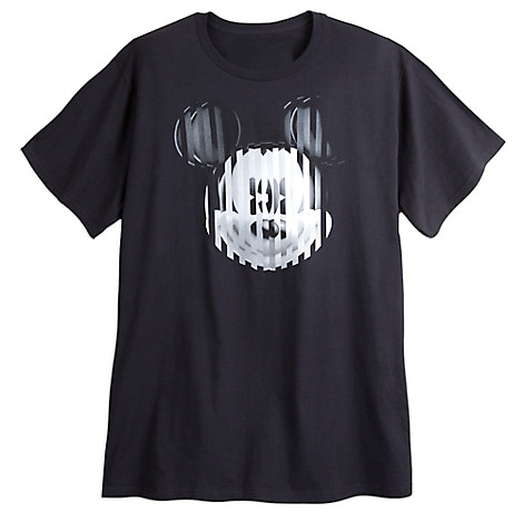 Mickey Mouse Op Art Tee for Men - Plus Size