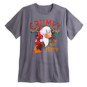 Grumpy Holiday Tee for Men - Plus Size