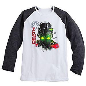 Imperial Death Trooper Long Sleeve Raglan Tee for Men - Rogue One: A Star Wars Story 5620045531508M
