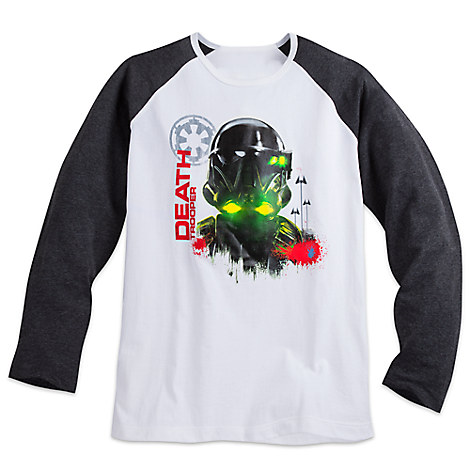 Imperial Death Trooper Long Sleeve Raglan Tee for Men - Rogue One: A Star Wars Story
