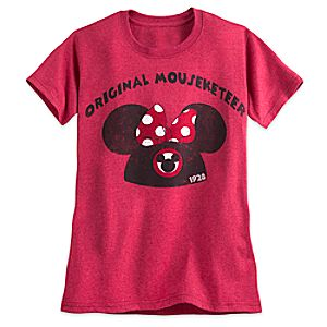 Minnie Mouse Icon Mouseketeer Tee for Women