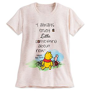 Winnie the Pooh and Piglet Tee for Women