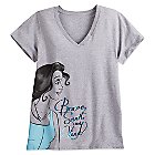 Belle Heathered Tee for Women - Plus Size