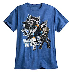 Rocket and Groot Tee for Men - Guardians of the Galaxy Vol. 2 5620045531751M