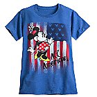 Minnie Mouse Americana Tee for Women