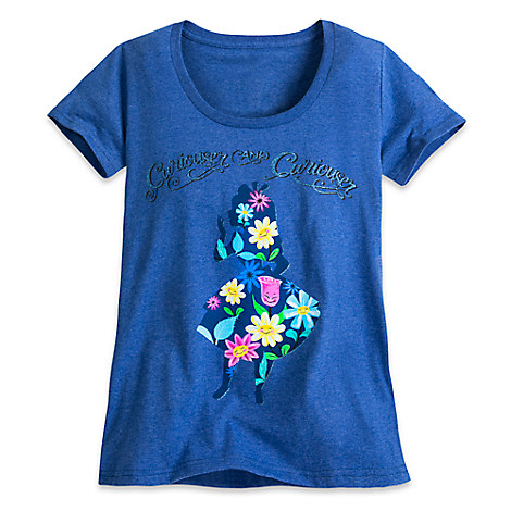 Alice in Wonderland Tee for Women