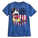 Mickey Mouse Americana Tee for Men