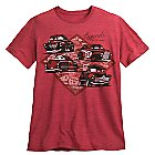 Cars 3 Tee for Men - Red