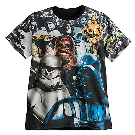 Star Wars: The Empire Strikes Back Cast Tee for Men