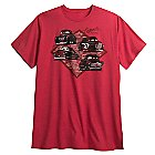 Cars 3 Tee for Men - Red - Plus Size