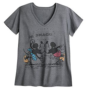 Mickey and Minnie Mouse Tee for Women – Plus Size