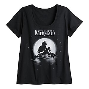 The Little Mermaid Tee for Women – Plus Size