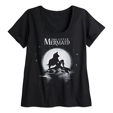 The Little Mermaid Tee for Women - Plus Size