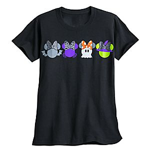 Minnie Mouse Icon Halloween Tee for Women