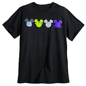 Mickey Mouse Icon Halloween Tee for Men
