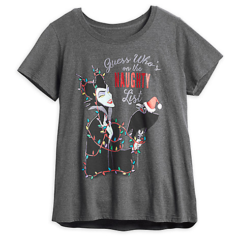 Maleficent Holiday T-Shirt for Women - Plus Size