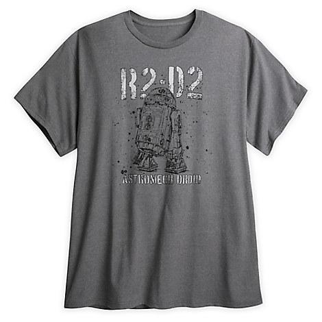 R2-D2 Astromech Droid T-Shirt for Men - Plus Size - Star Wars