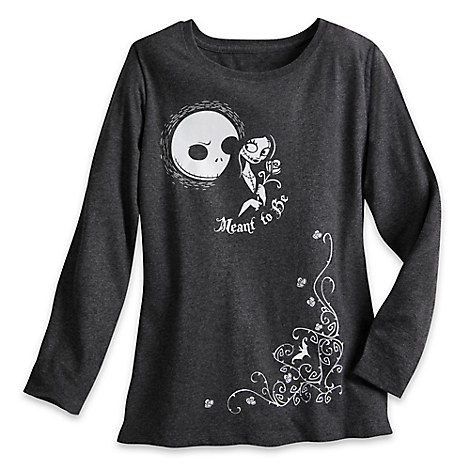 Jack Skellington and Sally Long Sleeve T-Shirt for Women