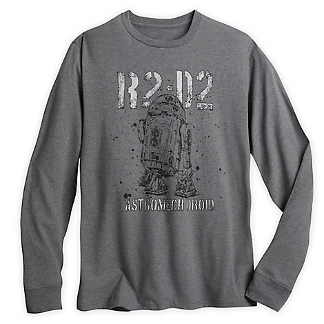 R2-D2 Astromech Droid Long-Sleeve T-Shirt for Men - Star Wars