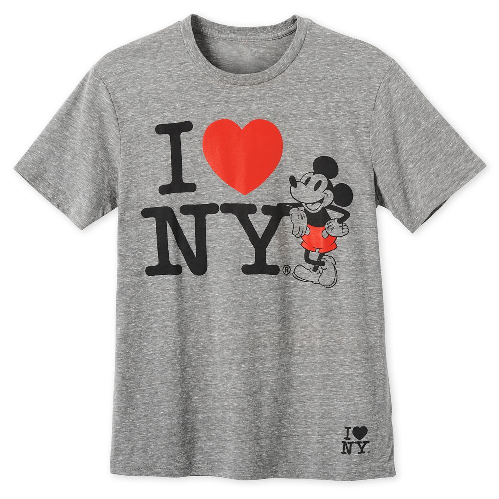 Mickey Mouse I♥New York T-Shirt for Men – New York City