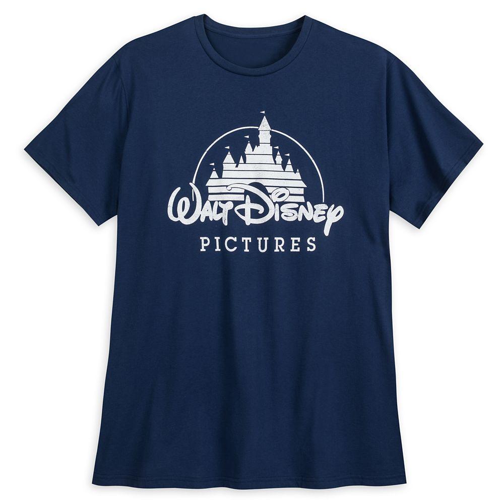 Walt Disney Pictures Logo Tee for Men  Extended Size