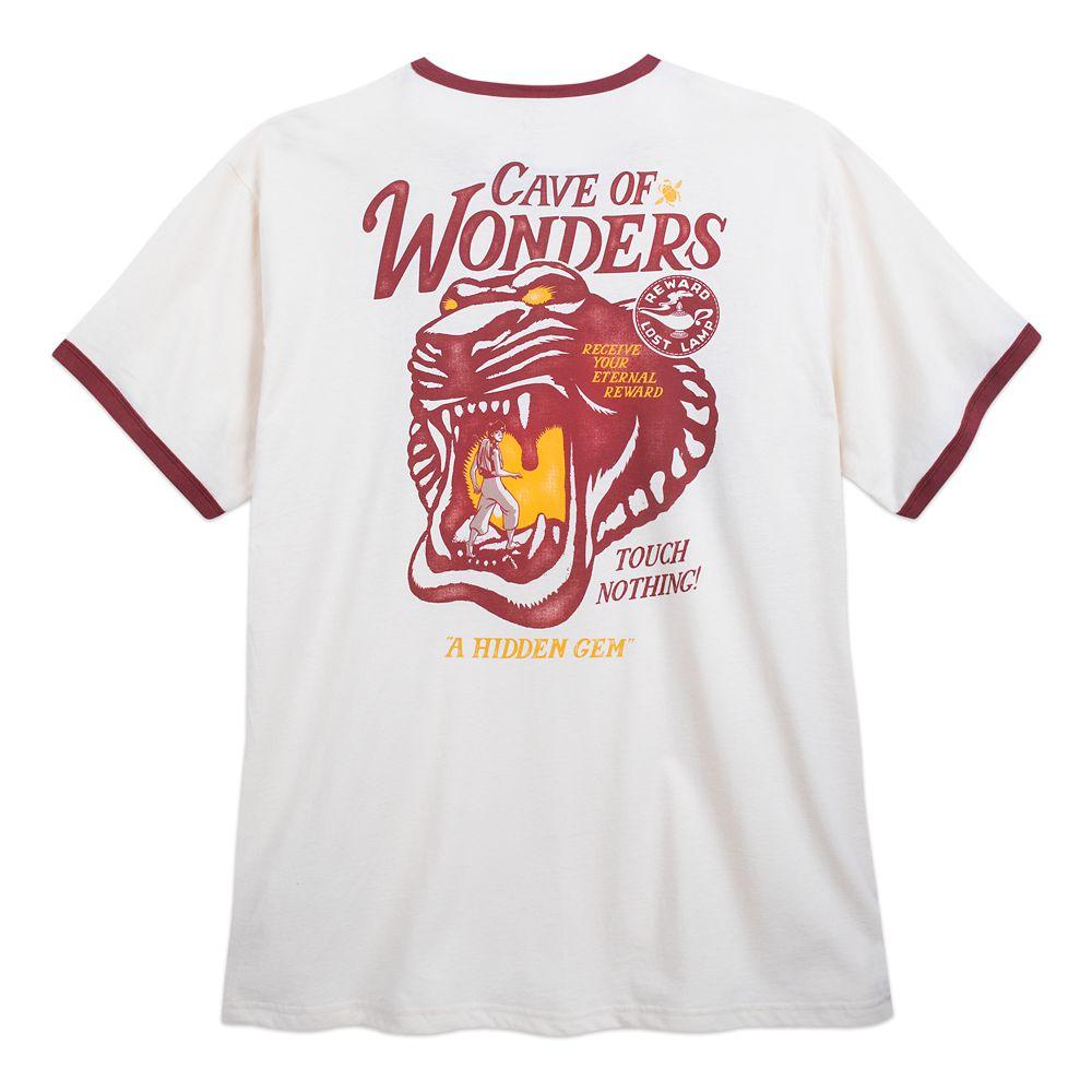 Cave of Wonders Ringer T-Shirt for Men – Aladdin – Extended Size