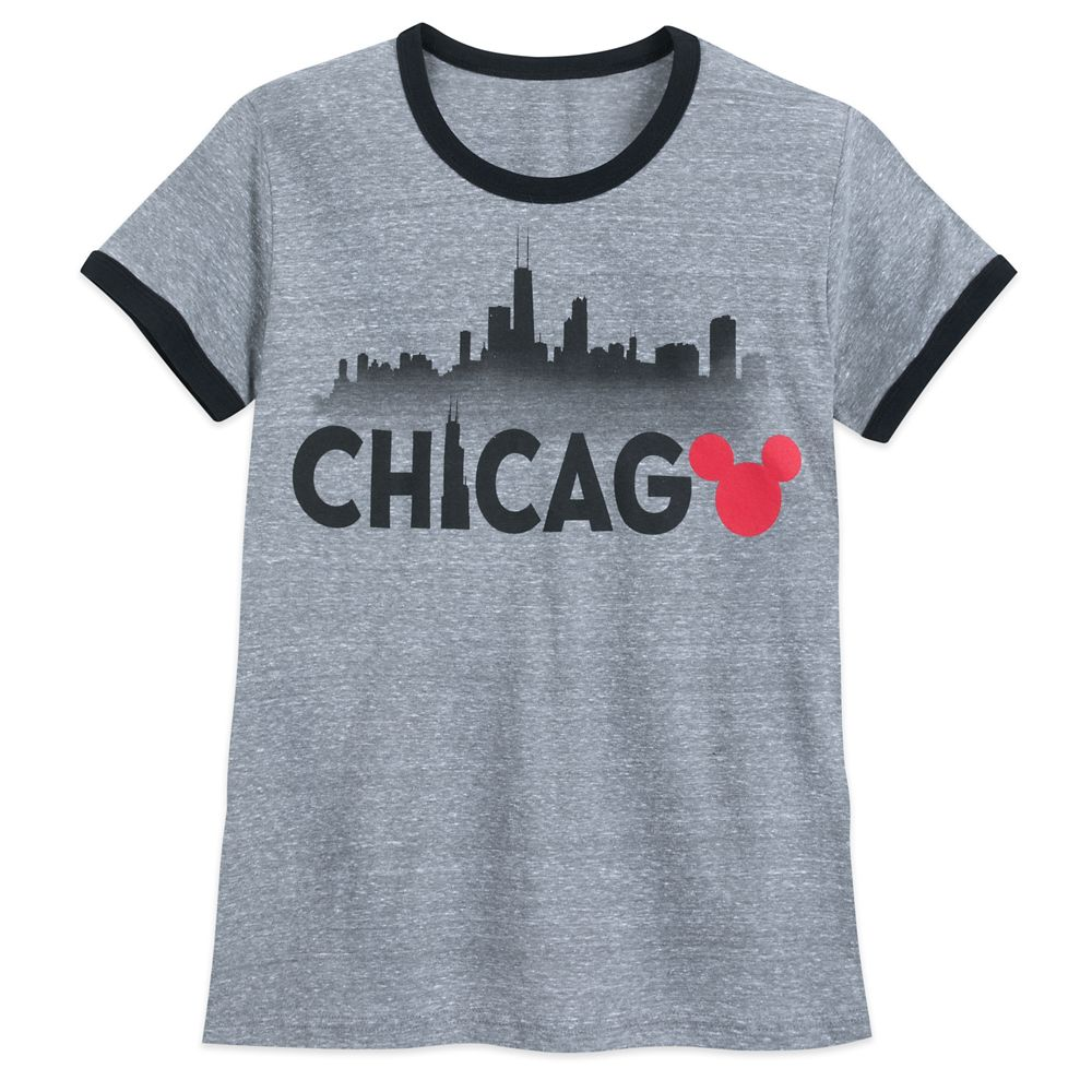 Mickey Mouse Chicago Ringer T-Shirt Shirt for Women Official shopDisney