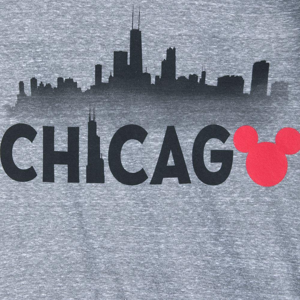 Mickey Mouse Chicago Ringer T-Shirt Shirt for Women