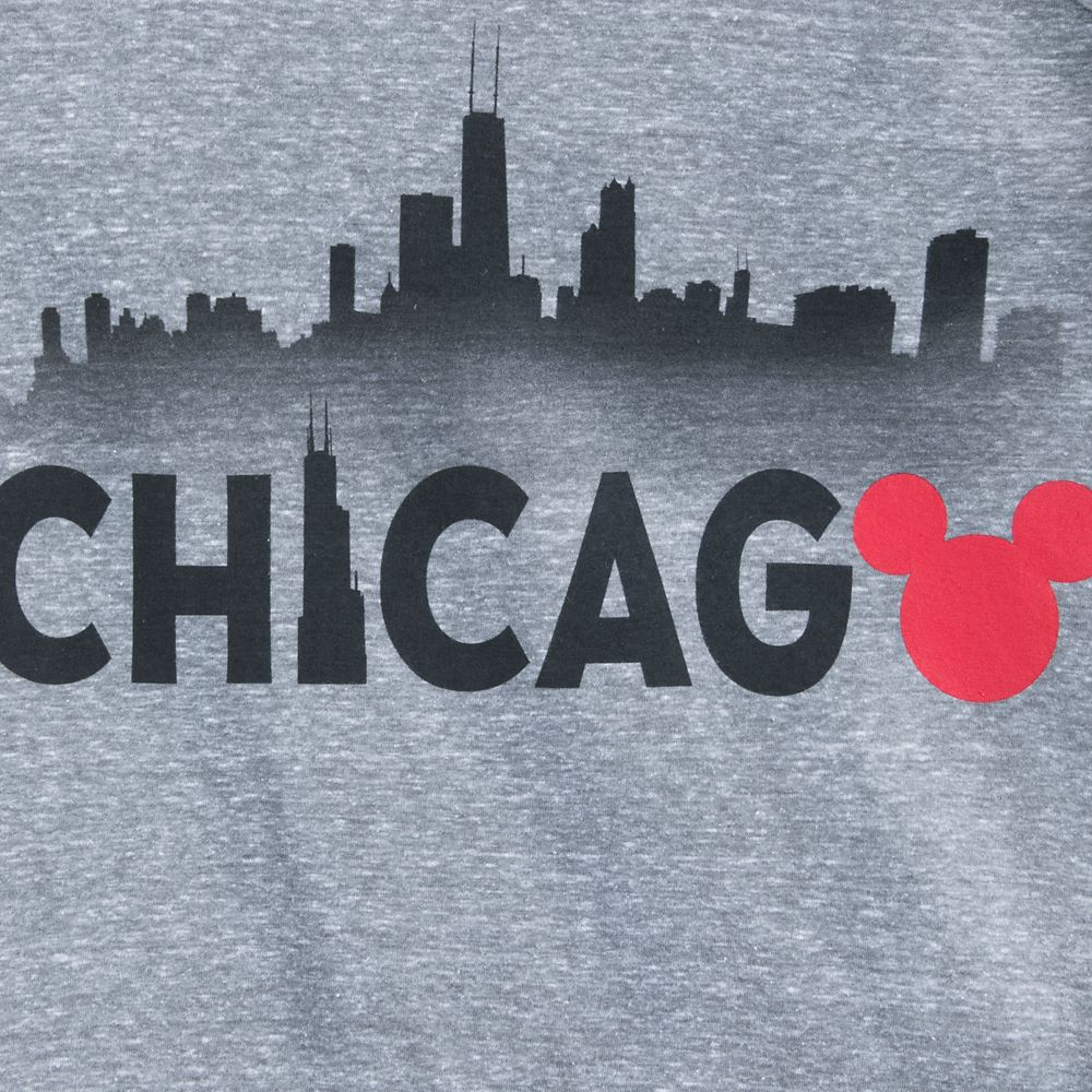 Mickey Mouse Chicago Ringer T-Shirt Shirt for Men