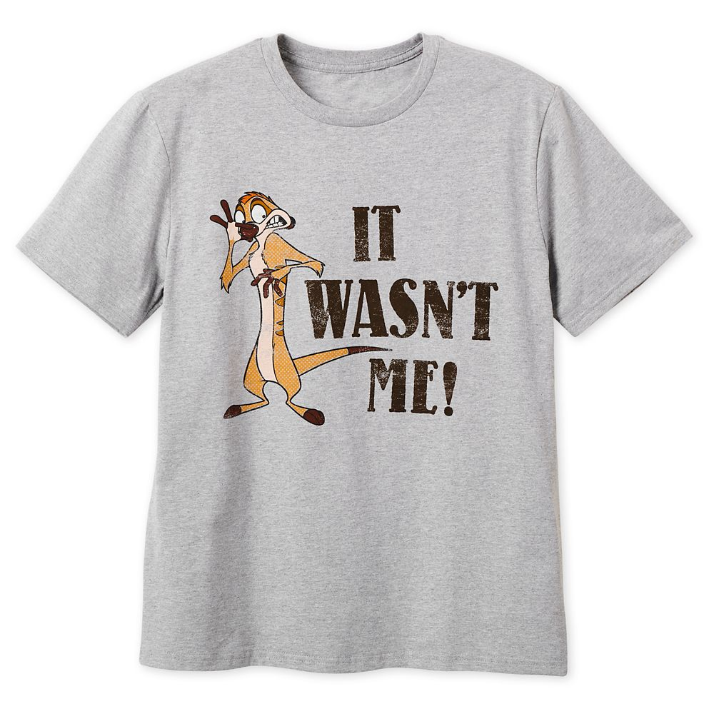 Timon and Pumbaa T-Shirt for Men