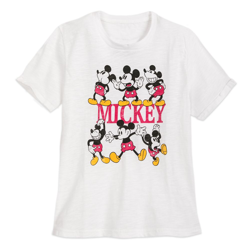 Mickey Mouse Multi-Pose T-Shirt for Women