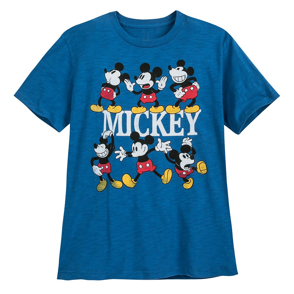Mickey Mouse Multi-Pose T-Shirt for Men Official shopDisney