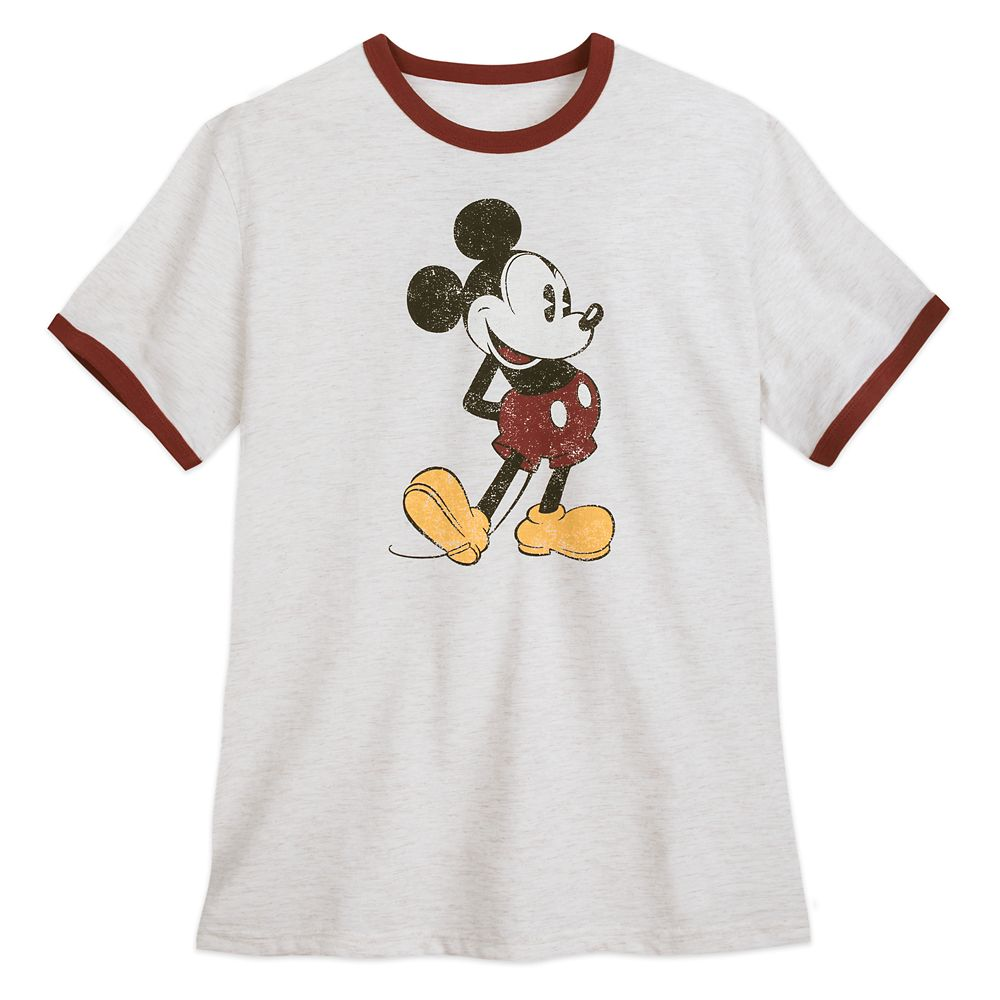 Mickey Mouse Ringer T-Shirt for Men