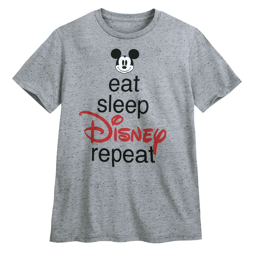 Mickey Mouse ''Eat Sleep Disney'' T-Shirt for Men