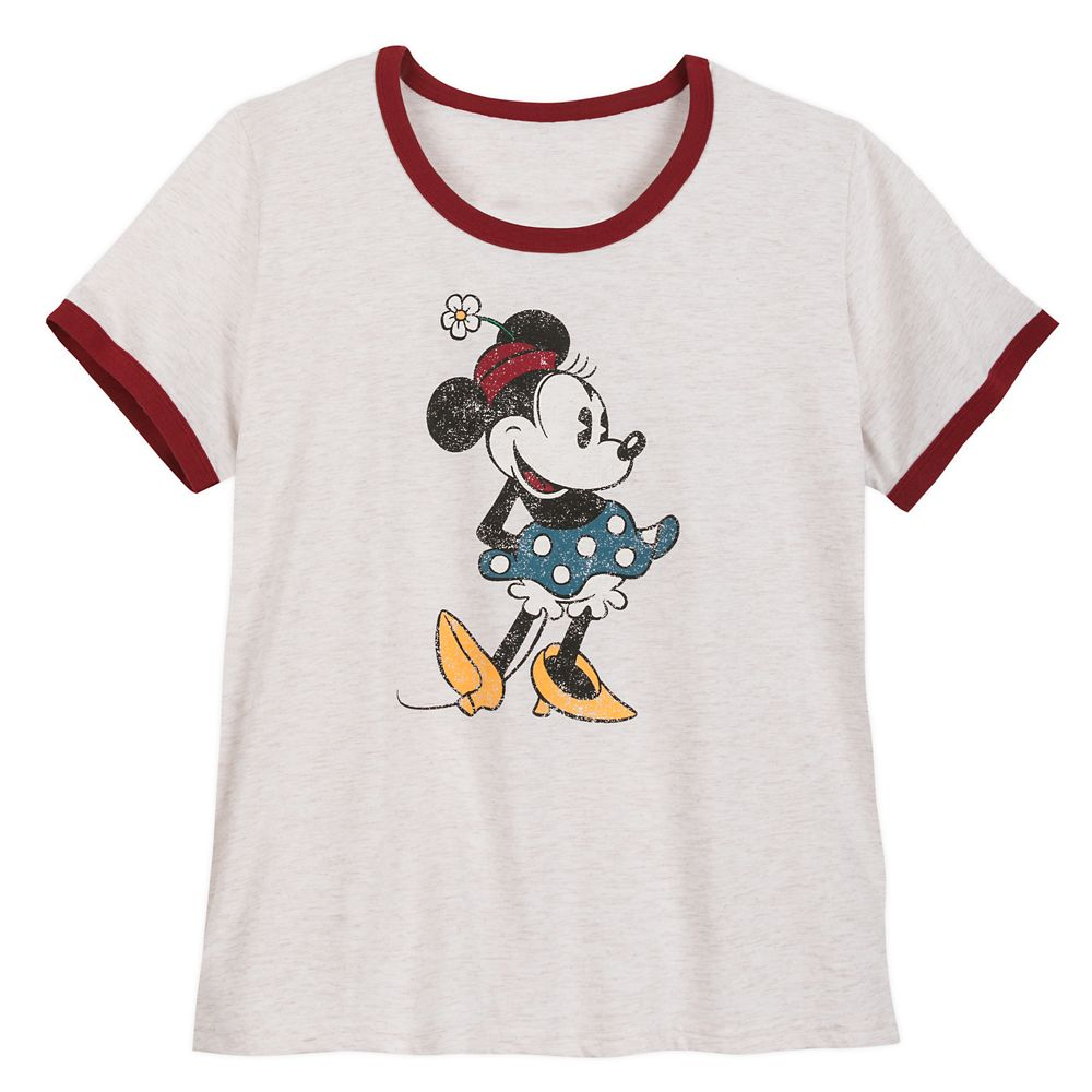 Minnie Mouse Ringer T-Shirt for Women – Extended Size