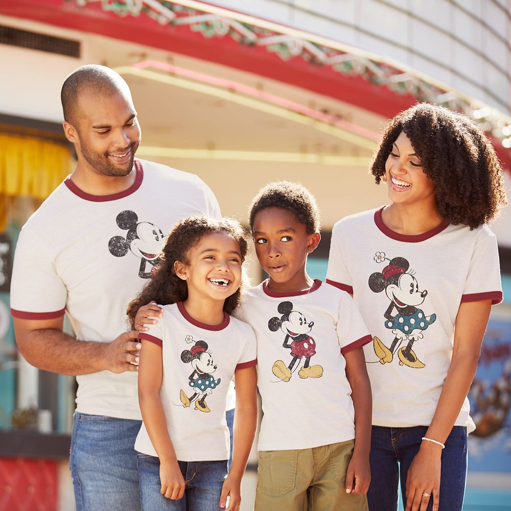 Mickey Mouse Ringer T-Shirt for Men – Extended Size