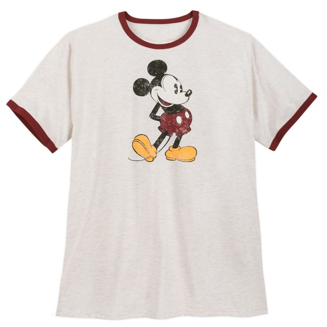 Mickey Mouse Ringer T-Shirt for Men – Extended Size